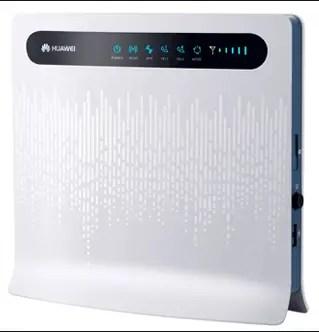 Huawei B593 LTE wifi router gateway