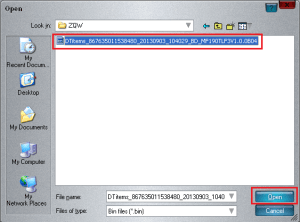 Backup of ZTE NV RAM