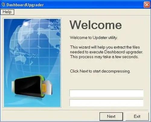 Alcatel AL300 Dodo Dashboard Upgrader