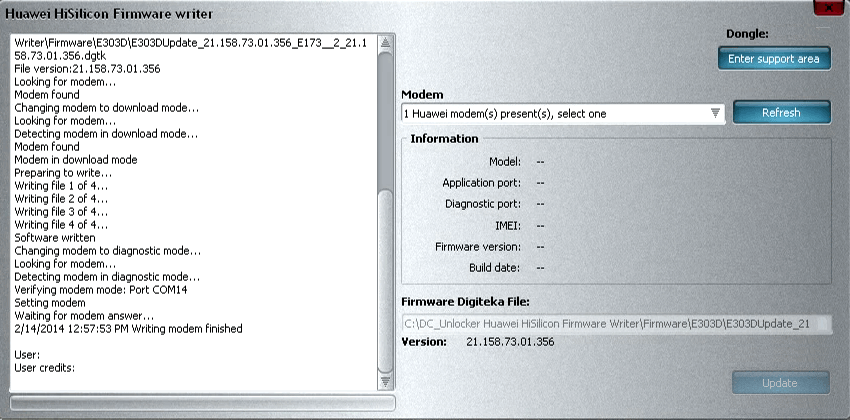 Download DC-Unlocker - Huawei HiSilicon Firmware Writer 0 ...