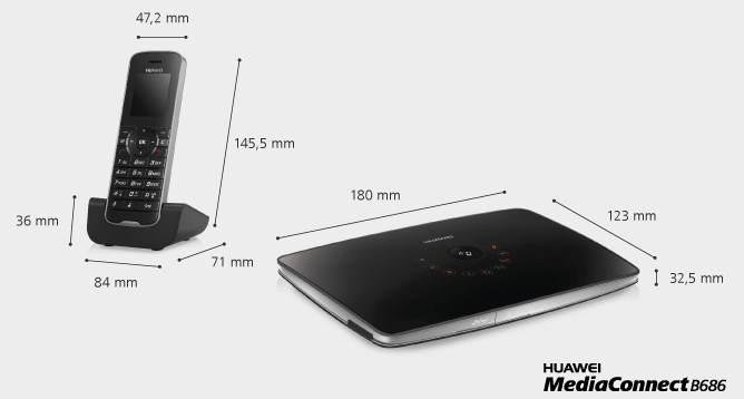 Huawei Media Connect B686 router