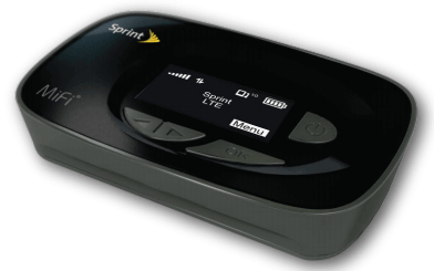 Novatel Wireless Sprint MiFi 500 4G LTE Router