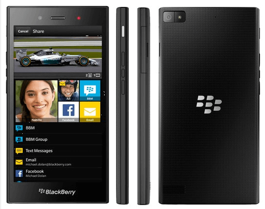 BlackBerry Z3 With 5-Inch qHD Display