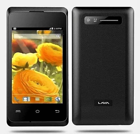 Lava Iris 350M Dual-SIM Android Smartphone