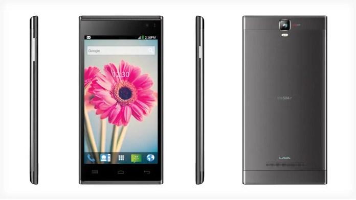 Lava Iris 504Q+ Android Smartphone