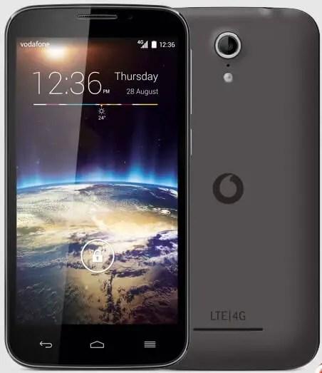 Vodafone Smart Power 4  5-Inches KitKat Smartphone