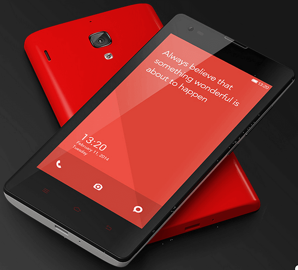 Xiaomi Redmi 1S Official in India with a tag price Rs 6999