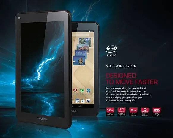 Prestigio MultiPad Thunder 7.0i Tablet