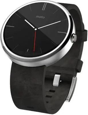 Motorola Moto 360 Smartwatch in India