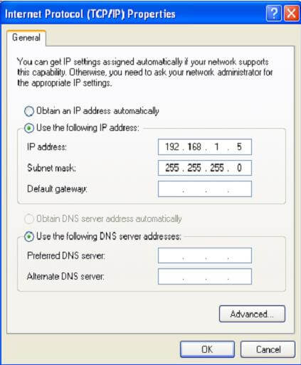 Assigning the IP address