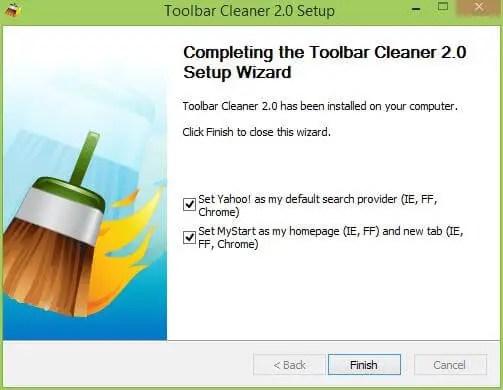 Toolbar Cleaner 2.0 Installation