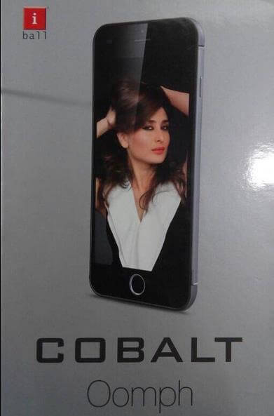 iBall Cobalt Oomph