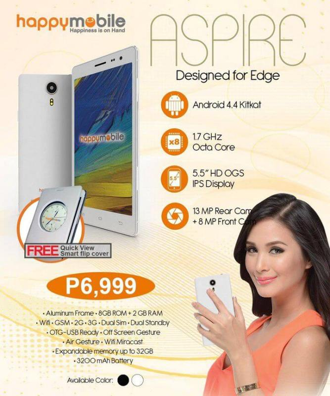 Happy Mobile Aspire in Phillippines