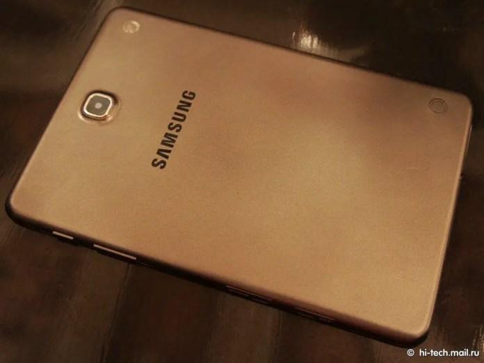Samsung Galaxy Tab A - Back