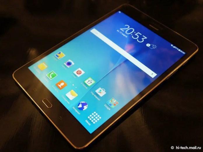 Samsung Galaxy Tab A - Front