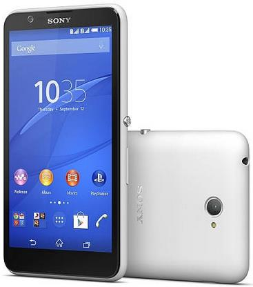Sony Xperia E4 Dual in India