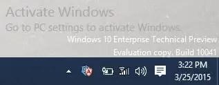 Windows 10 - Activate Windows