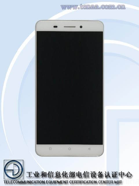 Gionee M5 - front