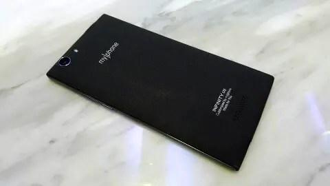 MyPhone Infinity LTE - Back