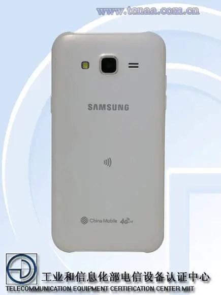 Samsung Galaxy J5 - Back