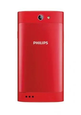 Philips S309 - Rear