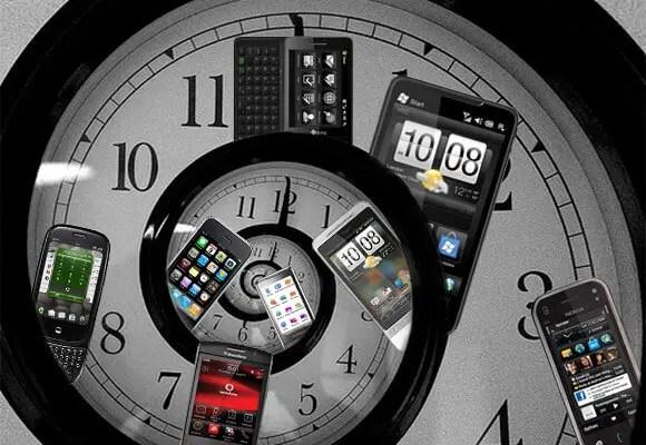 clock of ios