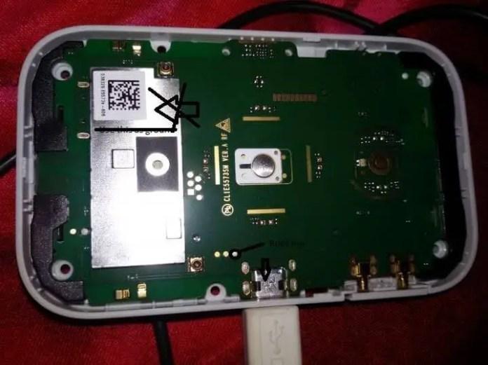 Huawei E5573 boot pin