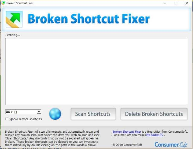 broken-shortcut-fixer