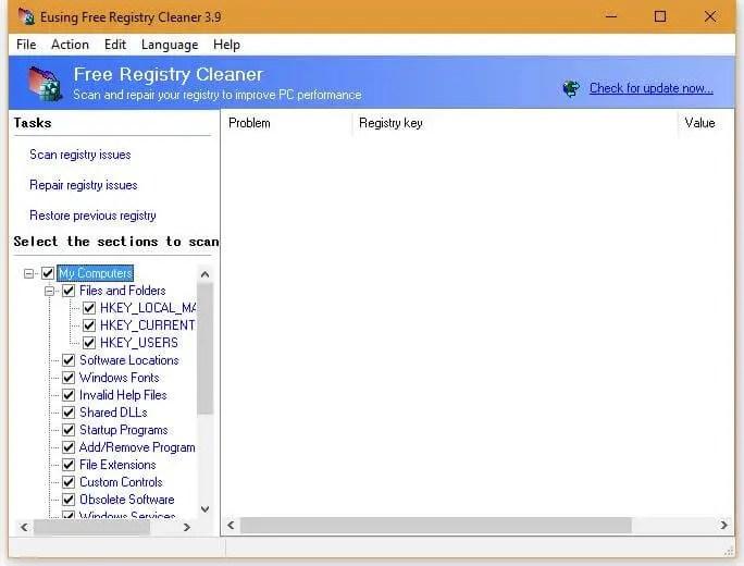 Eusing-Free-Registry-Cleaner