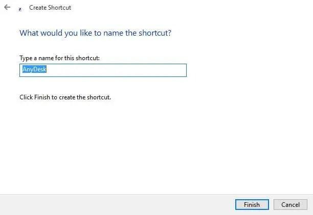 rename-of-shortcut