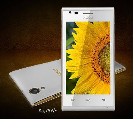 Xolo A550s IPS Smartphone in India