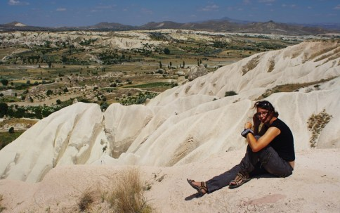 Resting, view on Goreme