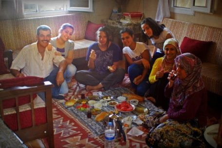 a lovely breakfast with Yusuf Family