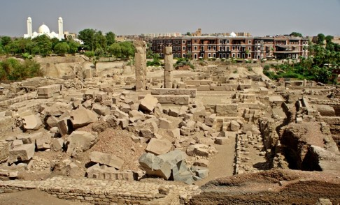 ancient ruins of Nubian city