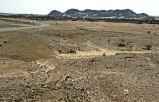 Nubian Desert - sand & rocks
