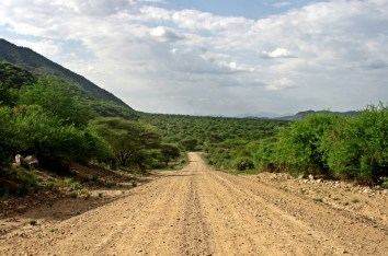 road to Turmi - seriously corrugated
