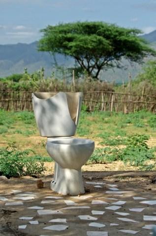 toilet in nature:P