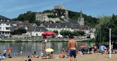 Parc plage de Montrichard