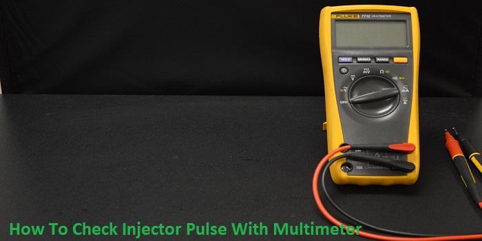 How To Check Injector Pulse With Multimeter
