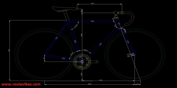 measure a mountain bike frame