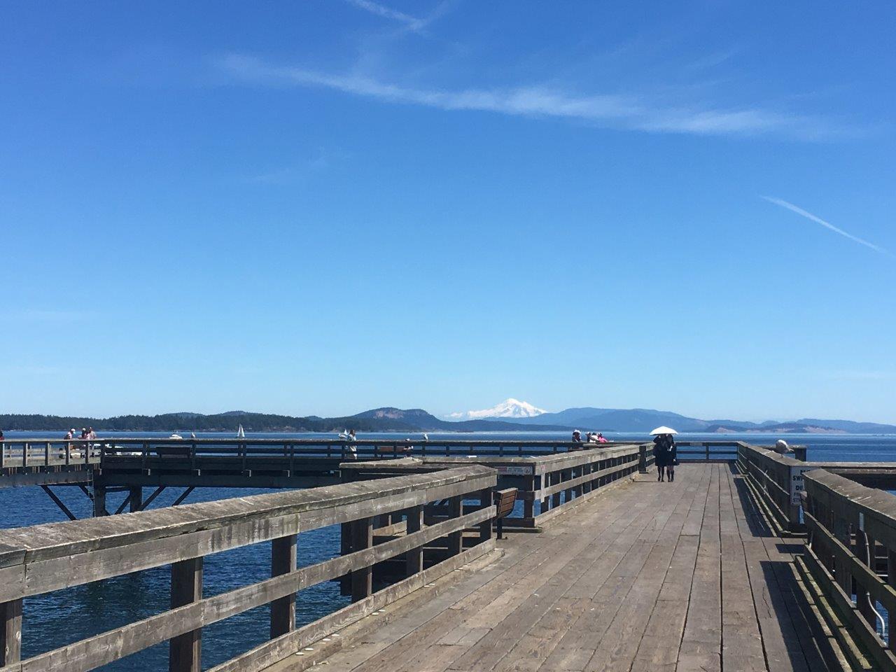 Sidney BC boardwalk