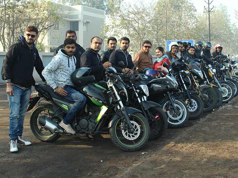 our most experienced riders