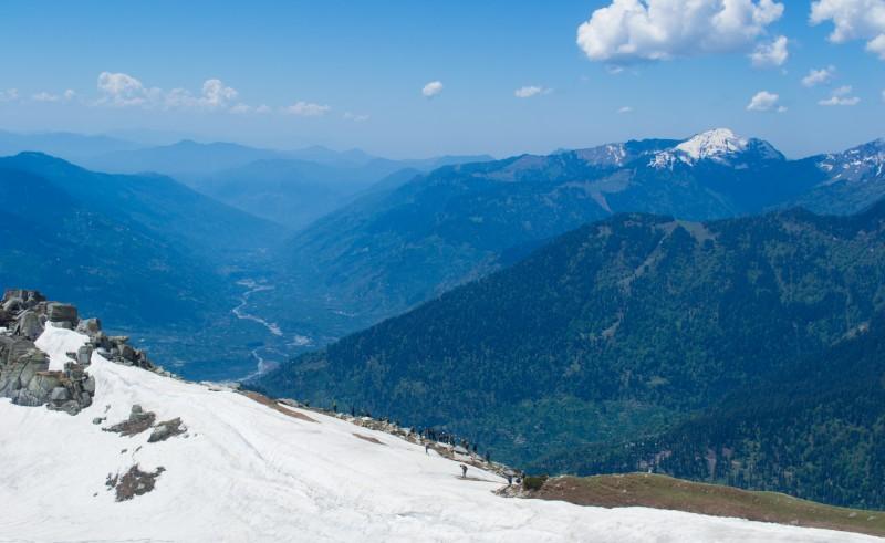 12000 feet above sea level