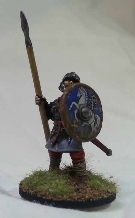 Anglo Dane Lone Spearman crop