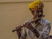 Musician in Mehrangarh Fort