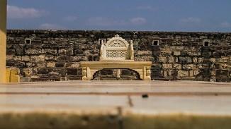Marble Seat inside Mehrangarh Fort