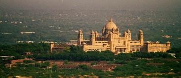 Umaid Bhavan Palace Fort View