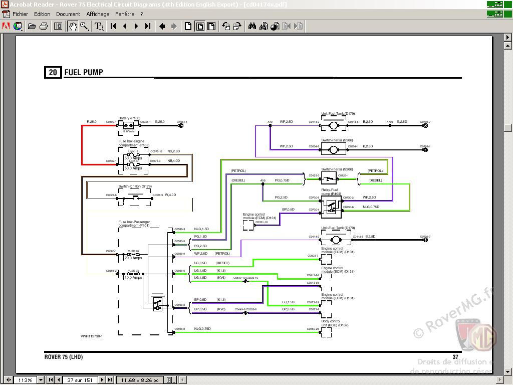 Mg Zr Horn Wiring Diagram Trusted Diagrams Rover 25 Wiper Circuit And Hub U2022 Train Air Horns