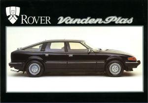 Rover Vanden Plas 3500 Brochure Cover