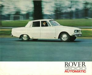 Rover 2000 SC Automatic Brochure Cover